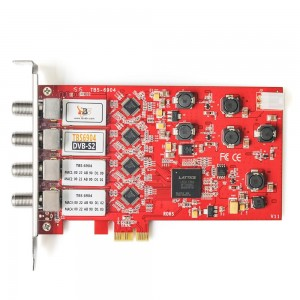TBS-6904 Quad DVB-S2  PCIe HD